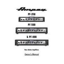 Ampeg Pf 350 Cabezal 350w Para Bajo Portaflex