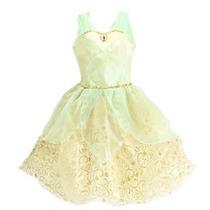 Disfraz Vestido Princesa Tiana Disney Store Original Usa