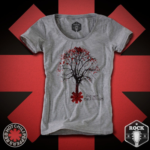 Remera Red Hot Chili Peppers Rock Indumentaria Mujer 3e0c632c3bab5