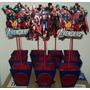 Centro De Mesa Vengadores-dragon Ball-sombies-cars Y Mas