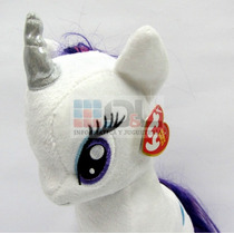 Peluche Mi Pequeño Pony Rarity Grande 28cm Original Hasbro