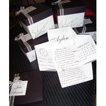 Tarjetas - Invitaciones - Participaciones - Cajitas