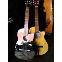 Guitarra Clasica El Trovador Con Corte Audiomasmusica