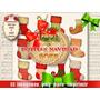 Pack Navidad 30 Sets Impr. Imágenes Diseño Gráfico Decoupage