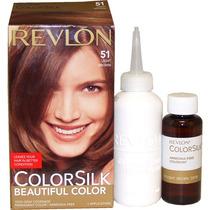 Revlon Colorsilk N 51 Castaño Claro Pack X 4 Un V Beautyshop