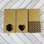 Cajas Papel Kraft O Blancas Lisas Troqueladas X10 Unidades