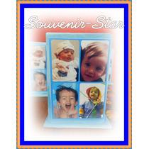 Souvenirs 10 Portalapices Con Foto Nacimiento Bebe Bautismo