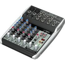 Behringer Xenyx Q802usb Mezclador 8 Entradas Usb/audio