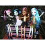 Muñecas Monster High. Pack X 4. 100% Articuladas. Env Gratis