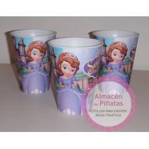 Vasos Descartables Princesa Sofia Para Cumples Infantiles