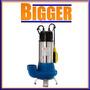 Bomba Sumergible Desagote Agua Sucia 1.5hp Motorarg Drv1100m