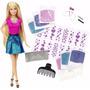 Barbie Peluqueria Peinados Brillantes Diseño De Pelo