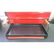 Chapa Bifera Plancha Para Cocinar 25cm X 50cm 2 Hornallas