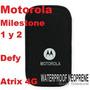 Funda Neoprene Motorola C/ribete Milestone 1y2 Defy Atrix 4g
