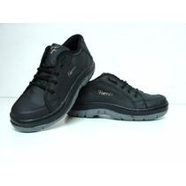 Zapato Zapatilla Fierro´s De Cuero Cosido Y Pegado.