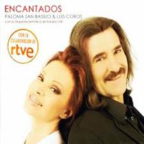 Paloma San Basilio Luis Cobos Encantados Cd Original Promo