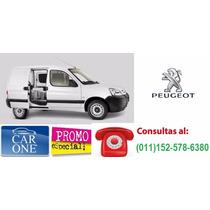 Peugeot Partner 0km $50000 De Anticipo Y Cuotas Sin Interes