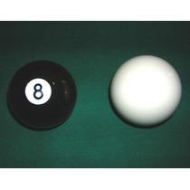 Bolas De Pool Negras Y Blancas, Nuevas. ¡¡¡ Oferta !!!