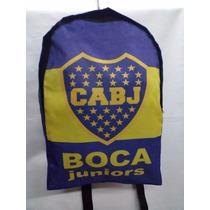Mochila Escolar Boca / River Y Mas Modelos