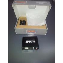 Conversor Hdmi A Vga Con Audio Box Ps4 Pc Notebook Dvd Proy