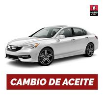 Cambio Aceite Y Filtro Honda Accord 2.2 4cil Desde 1998