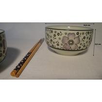 Set De Sushi Cuatro Bowls De Cerámica En Caja De Regalo