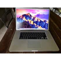 Macbook Pro 17  -  2,2 Ghz Intel Core I7 - Memoria 8 Gb