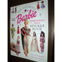 Barbie Book De Sticker De Trajes Szw