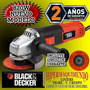 Amoladora Angular 115mm 820w + Disco Black Decker Prof G720