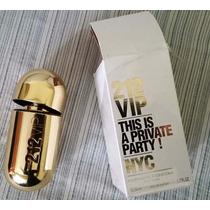 Perfume Carolina Herrera 212 Vip Vacio