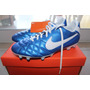 Botines Nike Tiempo Natural Iv Fg Cuero Cesped Talle 44.5