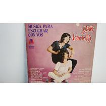 Lp Vinilo Gino Bonetti - Musica Para Escuchar Con Vos