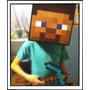 Minecraft - Cabeza Steve - Creeper - Zombie Y Más!!