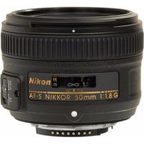 Lente Objetivo Fijo Nikon Nikkor 50 Mm F/1.8g Af Reflex