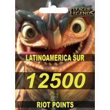 12500 Riot Points Rp Oferta Precio Lanzamiento!