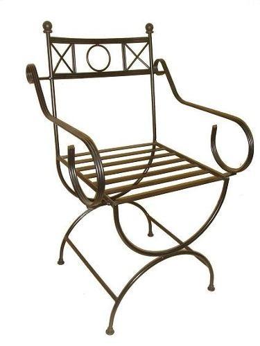 Muebles para ropa en hierro forjado - Sillas en hierro forjado ...