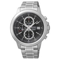 Reloj Seiko Sks445 441 Cronógrafo Wr100 Acero Agente Oficial