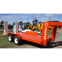 Trailer Carreton Tecnar Mod Tc3000 Cigueña P/ 4 Ton