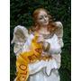 Oferta Angel De Gloria, Pesebre 55 Cm, Importado Cusco, Peru