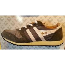 Zapatillas Gola Rooney Gris Originales Nuevas Hombre