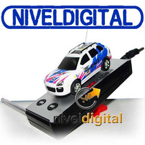 Mini Radio Control Rally C/ Luces Recargable 4 Frecuencias