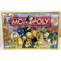 Monopoly The Simpsons El Juego Finanzas Mas Famoso Hasbro