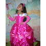 Guantes - Mitones - Lycra - Para Disfraz De Princesas