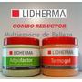 Termogel Lidherma + Adipofactor X 500 Gr + Envios Gratis