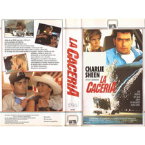La Caceria Charlie Sheen Krysty Swanson The Chase 1994 Vhs