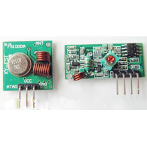 Modulo Rf Transmisor Y Receptor 315 Mhz Arduino Robotica Pic
