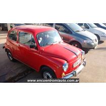 Fiat 600 Restaurado A Nuevo Con Manual Y Llaves Adaglio