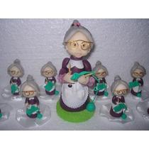 10 Souvenirs Abuelas En Porcelana Fría!!!!