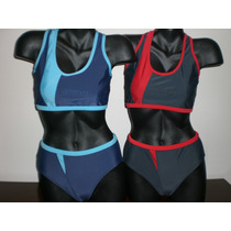 Malla 2 Piezas Natación - Bikini Competición - Lycra