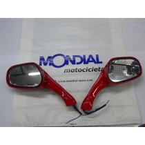 Espejos Con Giros Scooter Original Mondial En Guido Motos
